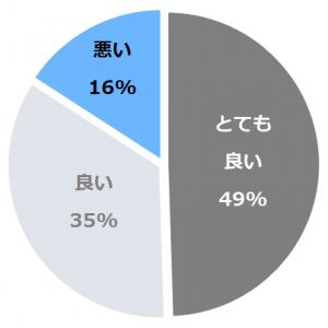 ホテル ナトゥールヴァルト富良野(なとぅーるヴぁると)口コミ構成比率表(最低最悪を含む)