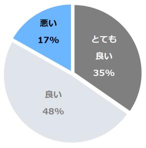 サフィールホテル稚内(さふぃーる)口コミ構成比率表(最低最悪を含む)