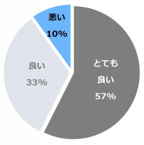 大和屋本店(やまとやほんてん)口コミ構成比率表(最低最悪を含む)