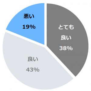 箱根ホテル 富士屋ホテルレイクビューアネックス(はこねほてるふじやれいくびゅーあねっくす)口コミ構成比率表(最低最悪を含む)