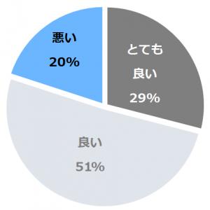 小田急箱根レイクホテル(おだきゅうはこねれいくほてる)口コミ構成比率表(最低最悪を含む)