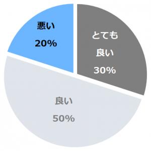 箱根湯の花プリンスホテル(はこねゆのはなぷりんすほてる)口コミ構成比率表(最低最悪を含む)