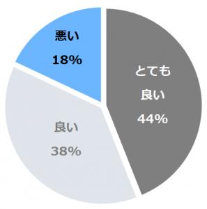 箱根・芦ノ湖 はなをり(はこねあしのこはなをり)口コミ構成比率表(最低最悪を含む)