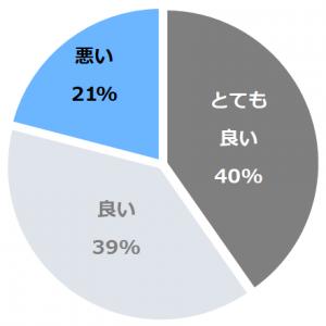 源泉掛流しの湯めぐりテーマパーク 龍洞(りゅうどう)口コミ構成比率表(最低最悪を含む)