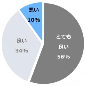 日光千姫物語(にっこうせんひめものがたり)口コミ構成比率表(最低最悪を含む)