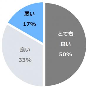 ホテル四季の館那須(ほてるしきのやかたなす)口コミ構成比率表(最低最悪を含む)