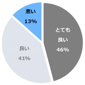 日本三秘湯 谷地温泉(にほんさんひとうやちおんせん)口コミ構成比率表(最低最悪を含む)