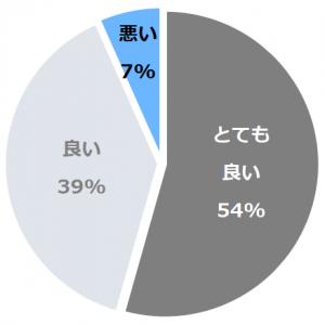咲花温泉 望川閣(ぼうせんかく)口コミ構成比率表(最低最悪を含む)