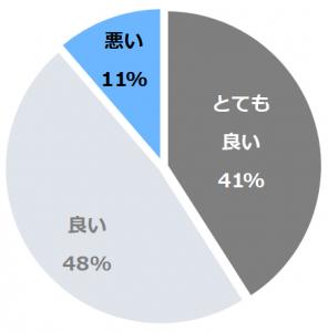 鹿教湯温泉 斎藤ホテル(かけゆおんせん)口コミ構成比率表(最低最悪を含む)