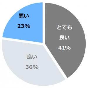 湯田上温泉 越後乃お宿 わか竹(わかたけ)口コミ構成比率表(最低最悪を含む)