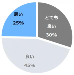 湯元 上山田ホテル(ゆもとかみやまだほてる)口コミ構成比率表(最低最悪を含む)