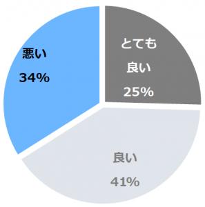 伊豆熱川温泉 ホテルカターラRESORT&SPA(いずあたがわおんせんほてるかたーらりぞーとあんどすぱ)口コミ構成比率表(最低最悪を含む)