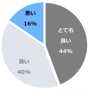 旅館 深雪温泉(りょうかんみゆきおんせん)口コミ構成比率表(最低最悪を含む)