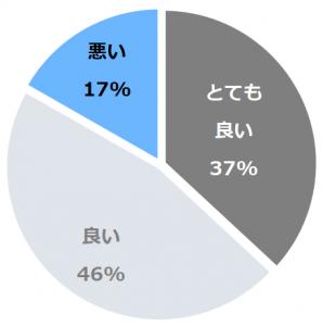 車山高原スカイパークホテル(くるまやまこうげんすかいぱーくほてる)口コミ構成比率表(最低最悪を含む)