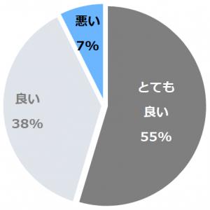 浅間温泉 ホテル玉之湯(あさまおんせんほてるたまのゆ)口コミ構成比率表(最低最悪を含む)