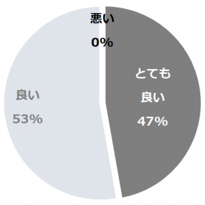 Wan´s Resort 城ヶ崎海岸(わんずりぞーとじょうがさきおんせん)口コミ構成比率表(最低最悪を含む)