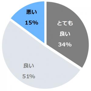 ホテルプラザ勝川(ほてるぷらざかちがわ)口コミ構成比率表(最低最悪を含む)