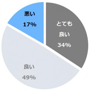 洲本温泉 淡路島観光ホテル(すもとおんせんわじしまかんこうほてる)口コミ構成比率表(最低最悪を含む)