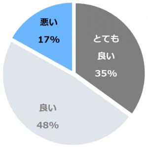 碧き島の宿 熊野別邸 中の島(あおきしまのやどくまのべってい なかのしま)口コミ構成比率表(最低最悪を含む)